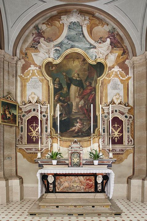 Altare delle reliquie