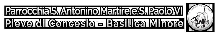 Parrocchia S. Antonino Martire e S. Paolo VI